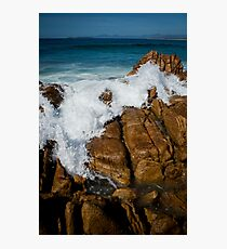 Granite Coast line, Tasmania Photographic Print