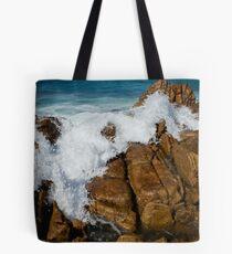 Granite Coast line, Tasmania Tote Bag
