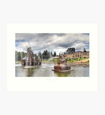 Witley Court, Worcestershire Art Print