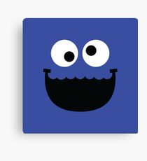"""Muppets """"Cookie Monster"""" Canvas Print"""