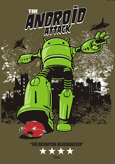 ANDROID ATTACK by Adams Pinto