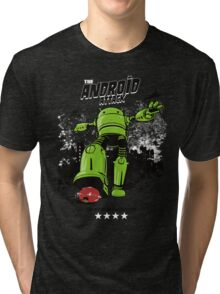 ANDROID ATTACK Tri-blend T-Shirt