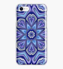 Cool fractal fantasy flower iPhone Case/Skin