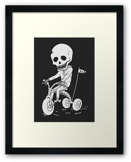 Death Kid Bone Ride by pigboom