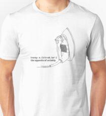 Irony : definition Unisex T-Shirt