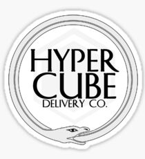 hypercube delivery co -corsair Sticker