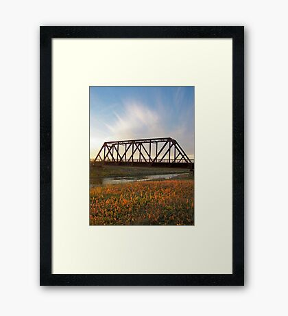 Auburn Afternoon Framed Print