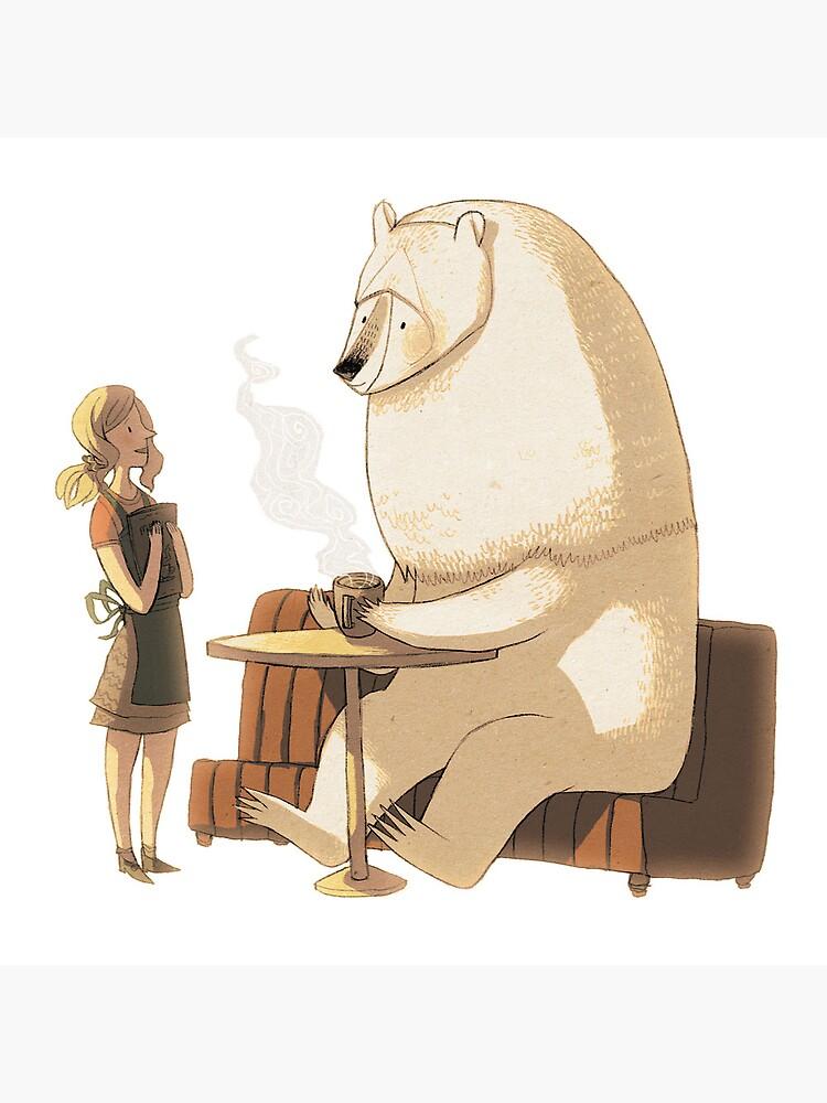 Polar Bear Coffee Break by znuese