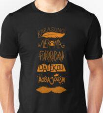 Haikyuu!! Teams - Karasuno Orange Unisex T-Shirt