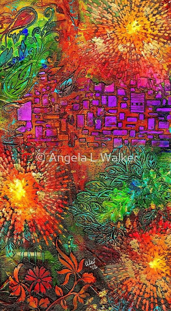 Cobblestone Way by © Angela L Walker