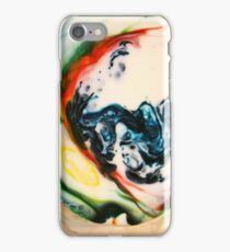 Food Coloring with Milk and Soap iPhone Case/Skin