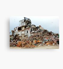 Destruction Canvas Print