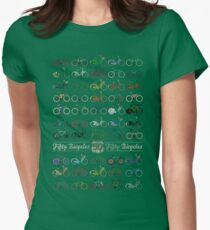 Fifty Bicycles Women's Fitted T-Shirt