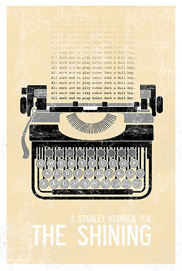 The Shining Minimalist Print  by Creative Spectator