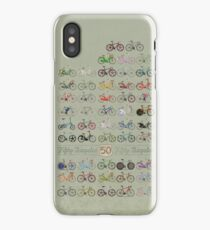 Fifty Bicycles iPhone Case