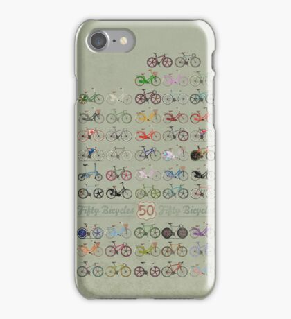 Fifty Bicycles iPhone Case/Skin