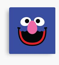 """Muppets """"Grover"""" Canvas Print"""