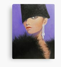 A LADY IN THE FASHION MODE Canvas Print