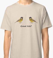 Great tits 2012 reworking Classic T-Shirt