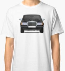Mercedes-Benz W123 black illustration Classic T-Shirt