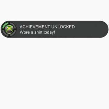 Xbox Achievement Unlocked by triforce15