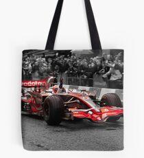 Jenson Button - Mclaren MP4-23 Tote Bag