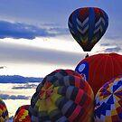 Hot air baloon # 4 by Alain Robillard