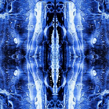 Ink Blot Blue by MarvinHayes