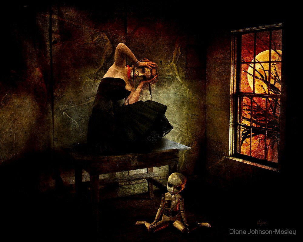 Haunted Dreams by Diane Johnson-Mosley