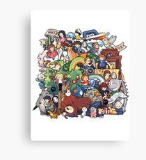 StudioGhibli Canvas Print