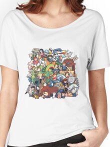 StudioGhibli Women's Relaxed Fit T-Shirt