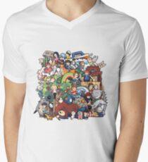 StudioGhibli Men's V-Neck T-Shirt