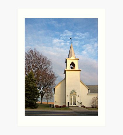 Springdale Lutheran Church Art Print
