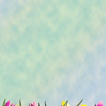 Tulip Fields by GalaxyTees