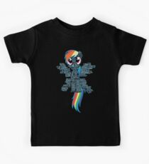 I am a brony because... Kinder T-Shirt