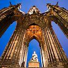 Scott Monument by Stuart Robertson Reynolds