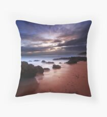 Debris Throw Pillow
