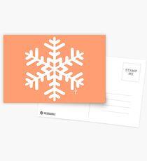 Snowflake Postcards