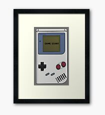 Nintendo Gameboy  Framed Print