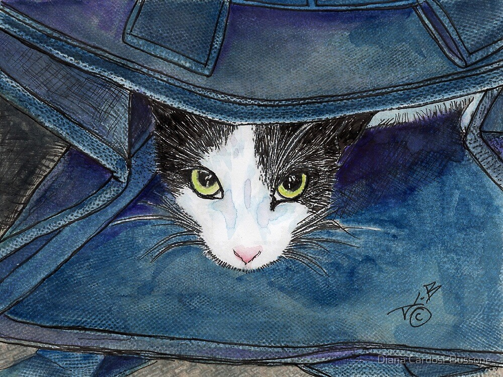 Don't Let the Cat Out of the Bag by Diana Cardosi-Bussone