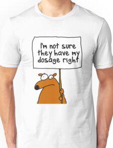 I'm not sure... Unisex T-Shirt