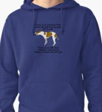 Things my dog says Pullover Hoodie