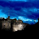 Edinburgh Castle by Stuart Robertson Reynolds