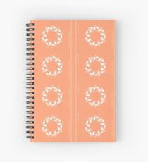 Christmas Holly Wreath Spiral Notebook