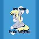 It's Okay Derpy iPhone/Pod Case by Geek-Spirations