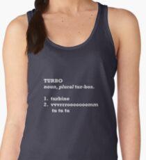 Turbo Defined. Women's Tank Top