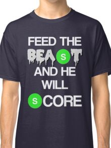 'Feed The Beast' Marshawn Lynch Classic T-Shirt