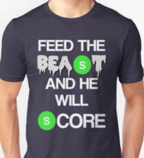 'Feed The Beast' Marshawn Lynch Unisex T-Shirt