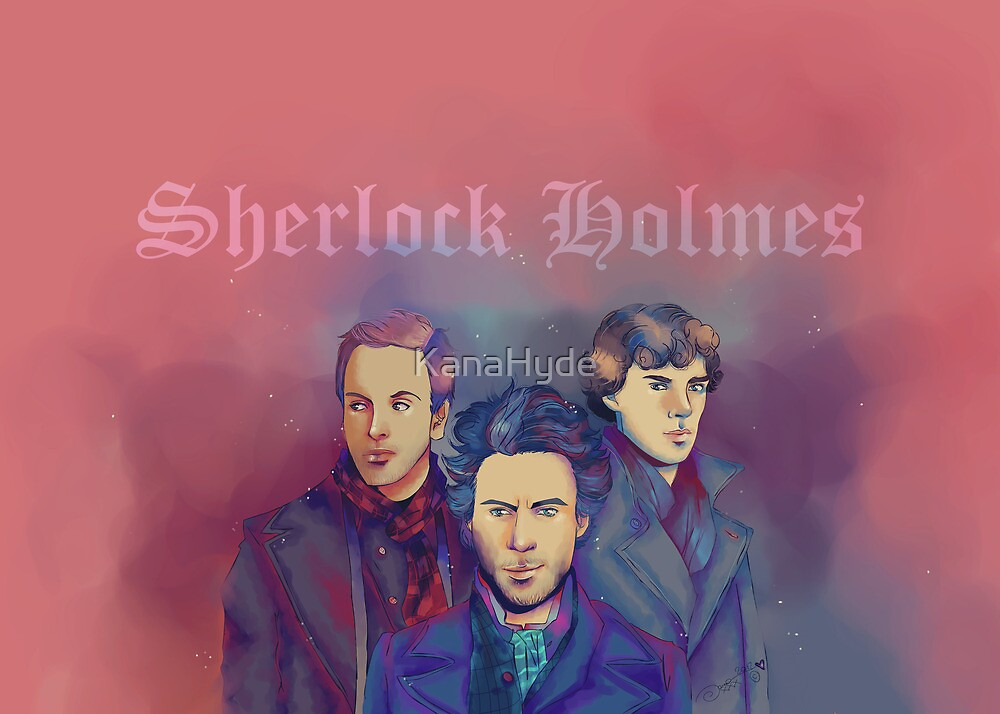 3 Sherlock by KanaHyde