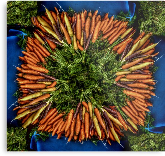Rainbow Carrots by Steve Walser